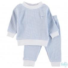 Feetje pyjama wafel bleu