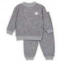 Pyjama feetje antraciet Fashion Edition