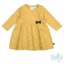 Feetje jurk Stars yellow