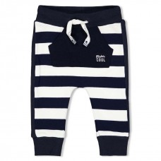 Feetje broek team icecream streep navy
