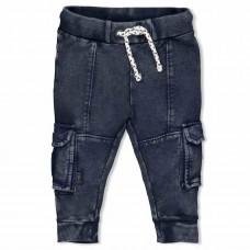 Feetje broek looking sharp grijs/blauw