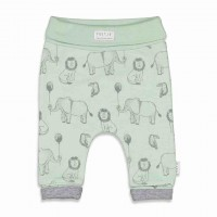 Feetje broek AOP animal friends mint