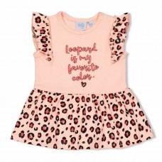 Feetje jurk leopard love