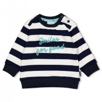Feetje sweater team icecream streep marine 51601658