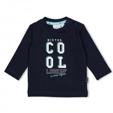Feetje t-shirt team icecream cool navy