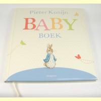 Baby boek Pieter Konijn