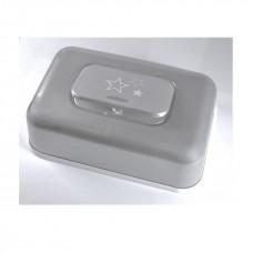 billendoekjesbox grijs met sterretjes bébé-jou