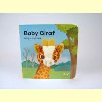 Vingerpop boekje baby giraf
