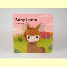 Vingerpop boekje baby lama
