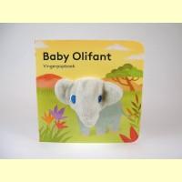 Vingerpop boekje baby olifant
