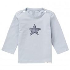 Noppies baby t-shirt lichtblauw met ster