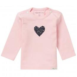 Noppies baby t-shirt roze