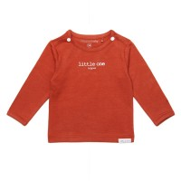 Noppies baby t-shirt donkeroranje little one