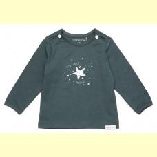 Noppies baby t-shirt Lux dark slate