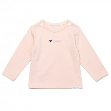 Noppies baby t-shirt Yvon peach skin
