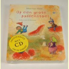Prentenboek met liedjes op CD Daar buiten loopt een schaap